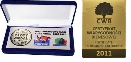 nagrody i certyfikaty - firma nasienna Granum