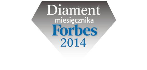 diament miesięcznika Forbes 2014 dla firmy nasiennej Granum